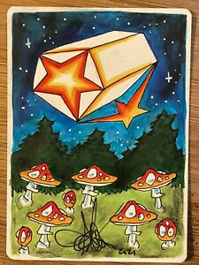 MTG ARTIST PROOF Japanese Celestial Prism AP Sketch Art Amy WEBER Magic