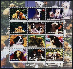 Udmurtia m/s MNH Dogs,