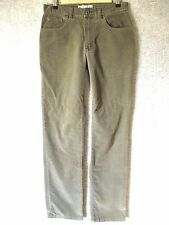 ABERCROMBIE & FITCH Women's Size 4 Olive Green Stretch Corduroy Pants Jeans