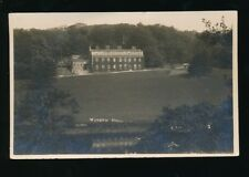Lancashire Lancs WADDOW HALL near Clitheroe Used 1929 RP PPC