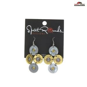 20ga Shotgun Shell Dangle Earrings ~ NEW