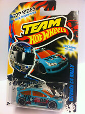 HOT WHEELS TEAM Top rides CITROEN c4 Rally con sticker oggetto da collezione Nuovo/Scatola Originale