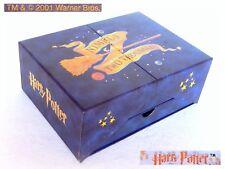 🌟 Vintage 2001 HARRY POTTER TM Warner Bros Cofanetto Desk Organizer Box Letters