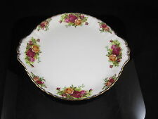 ROYAL ALBERT OLD COUNTRY ROSES BONE CHINA CAKE PLATE 1ST QUALITY