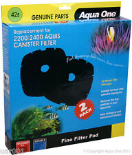 Aqua One- 35 Micron Filter Pad 42s (For Aquis Filters 2200/2400) 25042s