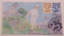 BASUTOLAND HAND PAINTED SNAKE HUNTER PHAYONG SEPT 1940
