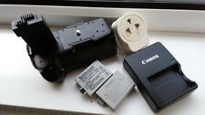 canon camera batteries, grip and charger