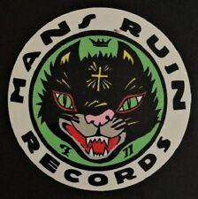 Man's Ruin Records Logo STICKER Decal Poster Artist Frank Kozik Original!