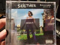 RARE Seether Disclaimer Advance Promo CD Ozzfest 2002