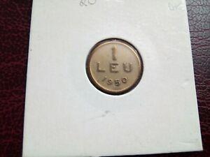 ROMANIA - 1 LEU 1950 - COINS