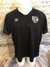 Umbro Men's Manchester United FC Black Size 2XL Soccer Jersey Blank