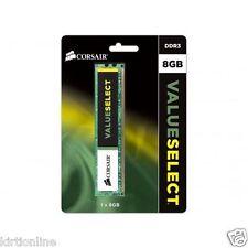 Corsair Value Select DDR3 8 GB (1 x 8GB) PC Desktop RAM (CMV8GX3M1A1600C11)