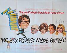 Susan Penhaligon HAND Signed 8x10 Photo, Autograph, No Sex We're British