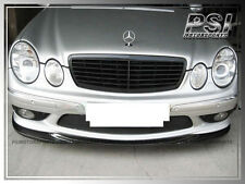 CARBON FIBER GH STYLE FRONT BUMPER LIP for MERCEDES W211 E55 AMG 2003-2005 ONLY