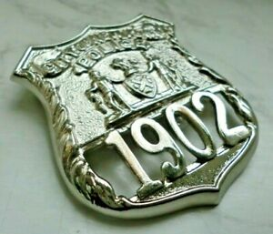 Historisches Abzeichen - Collector police badge - City of New York Police 1902