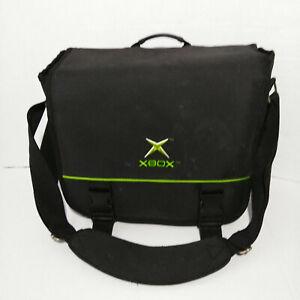 Microsoft Xbox 360 Carry Bag Black/Green Travel Bag Carrying Case