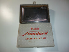 "MOSDA ""500"" AUTOMATIC LIGHTER CIGARETTE CASE - FEUERZEUG - 1955 -ENGLAND- NICE"