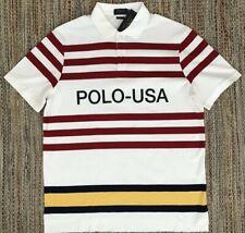 NWT Ralph Lauren Polo USA Vintage CP-93 Striped Shirt XL Regatta 1992 1993