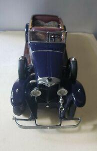 Franklin Mint Diecast Car precision model 1926 Mercedes Benz Model K