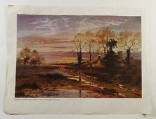 "Benjamin Leader February Fill Dyke Art Print 16"" x 12"" ^ Birmingham Art Gallery"