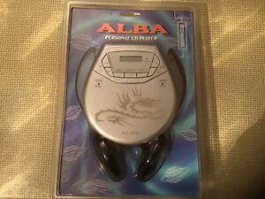 Alba Personal CD Player Dragon Design with Headphones BNWT Antishock PCD503COL