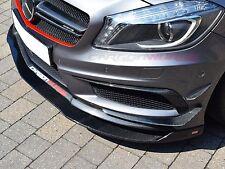 Mercedes CLA Carbon Fibre Front Spoiler Splitter - UK Stock - W117 CLA45 AMG