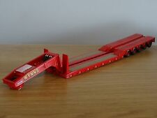 CORGI CLASSICS WYNNS 5 AXLE KING LOW LOADER TRUCK TRAILER MODEL CC12604 1:50