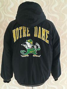90er Starter Jacke Winterjacke NCAA Notre Dame Fighting Irish Vintage 90s Gr.M