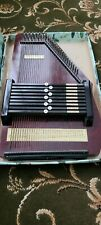 More details for autoharp 32 strings, 9 bar with tuning fork & thumb pluck & booklet good cond.