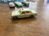VINTAGE SIKU MERCEDES BENZ 250 TAXI V309 : 1020 Made In W. GERMANY : RARE : MINT