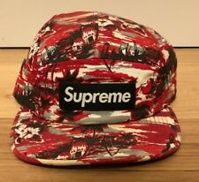 Supreme Tropical Camp Cap S/S10 5 panel USED Condition