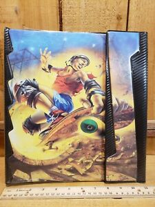 Vintage 1991 Mead Trapper Keeper NO RULES Skate Boarder Graphic & 2 portfolios