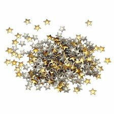Nail Art 250 Pieces Gold & Silver 5mm Star Metal Studs for Nails LW