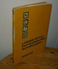 LOEWE OPTA Fernsehgeräte - Schaltungen 1958 - 63