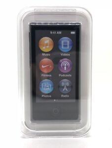 Apple Ipod Nano 7. Generation Space Gray Space Grey Gray 16GB New