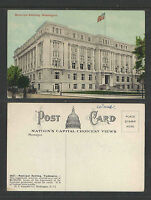 1910s MUNICIPAL BUILDING WASHINGTON DC POSTCARD