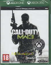 Call of Duty Modern Warfare 3 for Xbox 360 and Xbox One Brand New Sealed COD