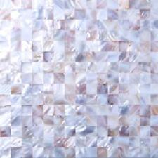 1 Sheet Mother of Pearl Sea Shell Mosaic Tiles sheet (MT0160)