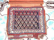 ANTIQUE CAUCASIAN PERSIAN CARPET SADDLE BAG