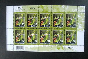 """Iceland - """"TREES ~ 100 YEARS OF FORESTRY IN ICELAND"""" MNH Stamp Sheetlet 2007 !"""
