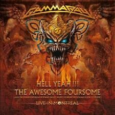"""GAMMA RAY """"Hell Yeah The Awesome... (LIVE)"""" 2 CD NEUF"""