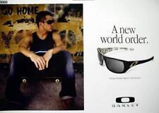 OAKLEY skateboard 2008 RYAN SHECKLER promotional poster ~NEW old stock~MINT~!!