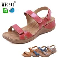Fashion Women's Premium Orthopedic Open Toe Sandals Summer Beach Conform Shoes