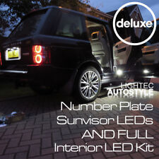 RANGE ROVER VOGUE L322 31PC CANBUS LED INTERIOR KIT LIGHTS BRIGHT XENON WHITE