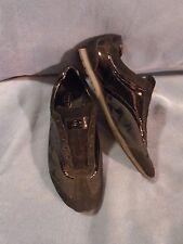 Women's Coach Kodie Black Leather Textile Sneakers Size 8 1/2 M