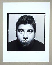 Chino Moreno of the Deftones 11x14 Custom Limited Edition Bw Fiber base Photo!