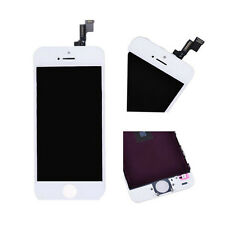 LCD Touch Screen Digitizer Front Glass Assembly Replacement for iPhone 5s White
