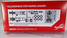 Herpa LKW  082709  Zugmaschinen-Fahrgestell MAN TGX 2-achs Inhalt: 2 Stück