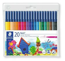 Staedtler Noris®  Wallet of 20 Fibre-Tip Pens/1mm/Colouring/Artist/Bullet Jounal
