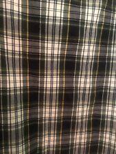 NAUTICA  Black Watch Plaid Standard Pillowcases Set Of 2